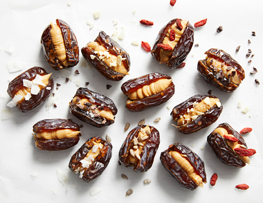Peanut Butter Filled Dates